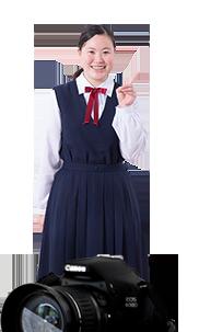 賢明女子学院高等学校制服画像